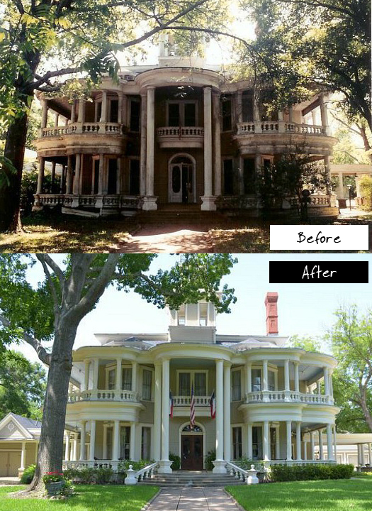 Saving a Grand Old House in Texas