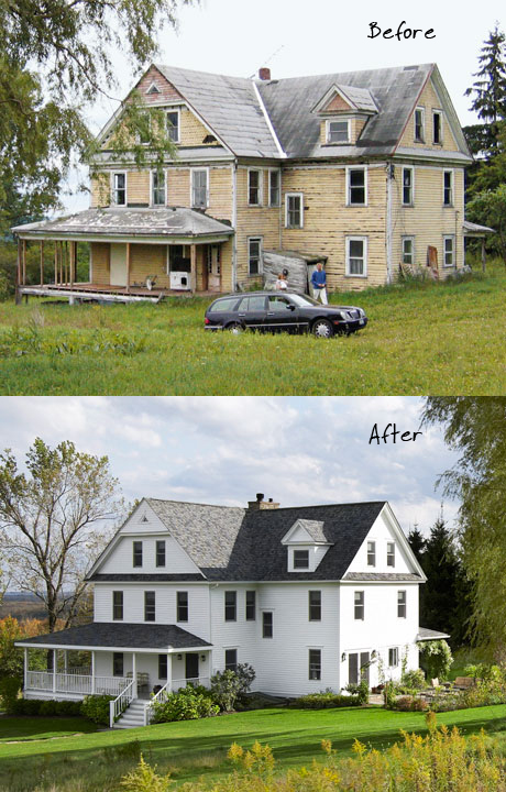 Upstate New York Home - Before and After