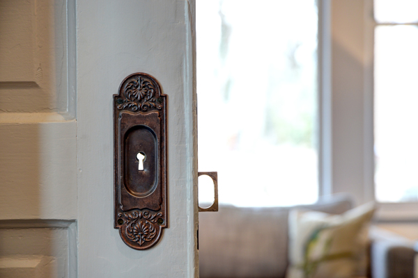 I adore pocket doors. Do you?