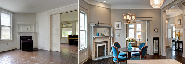 One Cool House  in Atlanta - Before and After {Living Vintage)