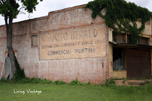 No News Here (The Abandoned Newspaper Building in Alto) - Living Vintage