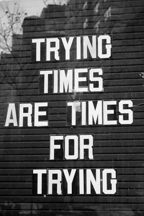 a motivational message for trying times - one of 8 picks for this week's Friday Favorites - Living Vintage