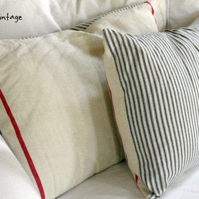 Red, White and Blue Pillows