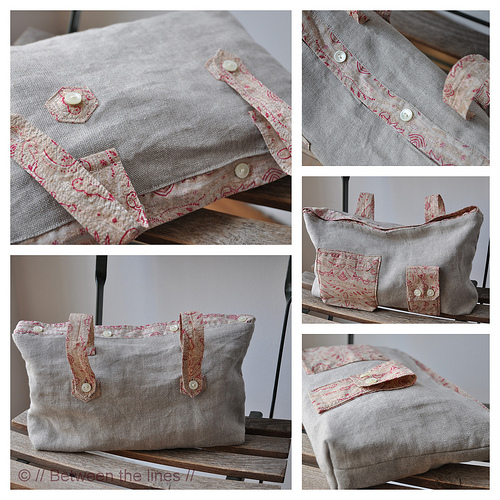 a pretty bag complete with a tutorial - one of 8 picks for this week's Friday Favorites