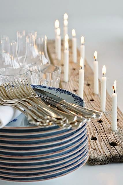 a simple, rustic candle holder - one of 8 picks for this week's Friday Favorites