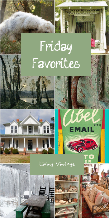 Friday Favorites - Living Vintage - GREEN-2