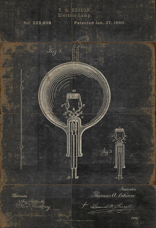 an Edison patent - one of 8 picks for this week's Friday Favorites
