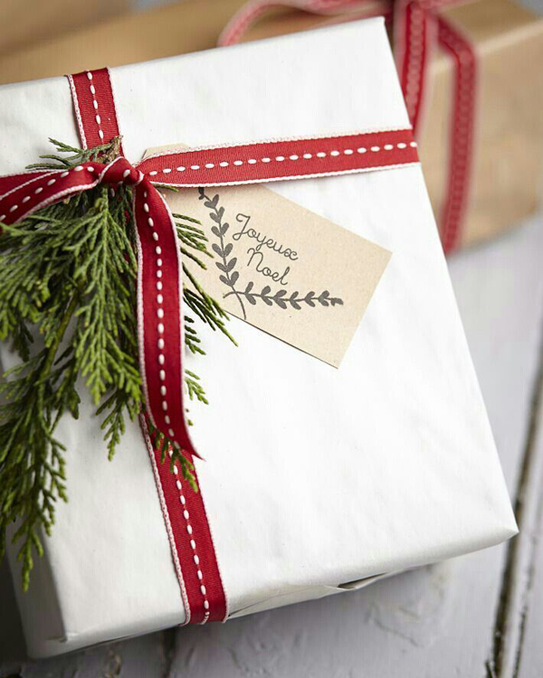 beautiful, simple wrapping - one of 8 picks for this week's Friday Favorites