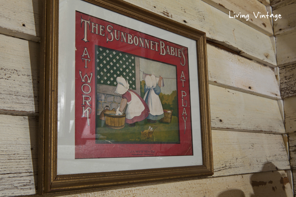 The Sunbonnet Babies at Work -- one of many laundry collectibles in this post!