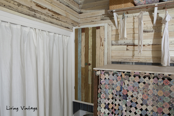 a wonderful, vintage laundry room