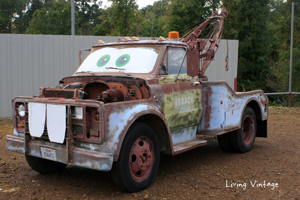 Mater from the movie, Cars, in real life