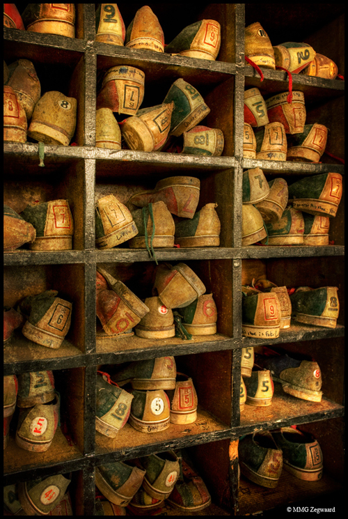 a collection of old bowling shoes found in an abandoned hotel - one of 8 picks for this week's Friday Favorites