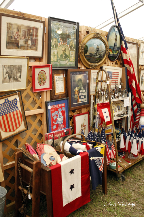 Americana galore spotted in A Wilder Place in Time's booth
