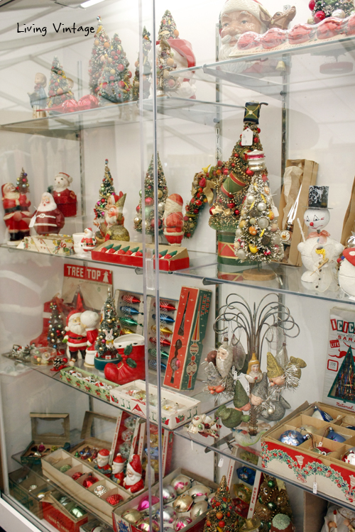 Christmas collectibles spotted in booth Aa8 at Marburger Farms