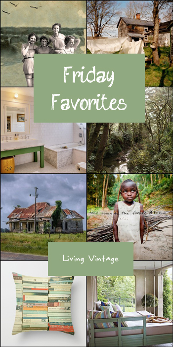 It's another green-themed Friday Favorites | Living Vintage
