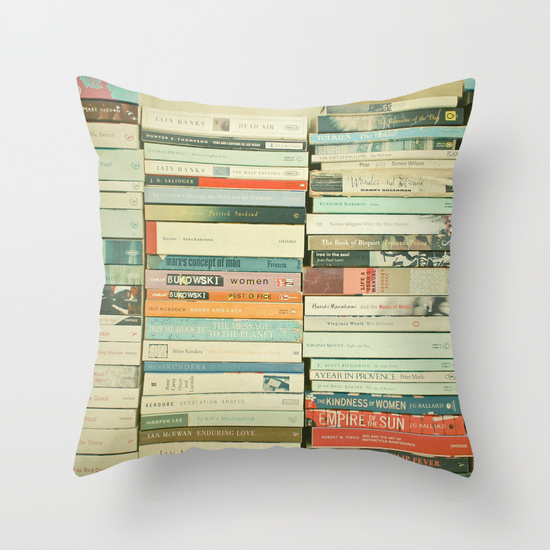 a fun pillow a book lover will adore - one of 8 picks for this week's Friday Favorites