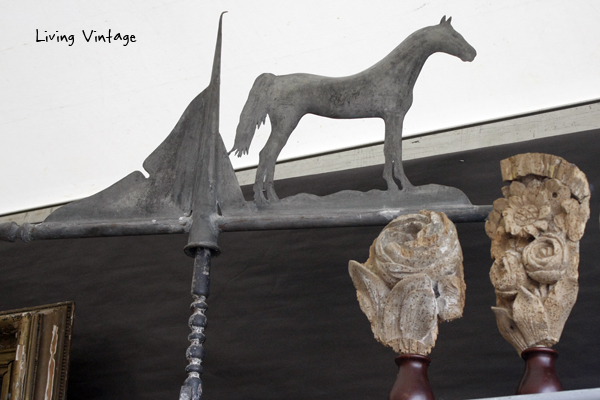 a horse weathervane sold by Cactus Jack's (I think)