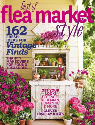 Our home is featured in the Spring 2015 edition of Best of Flea Market Style!