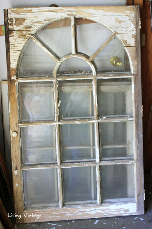 a pair of gorgeous reclaimed windows for a new shed project