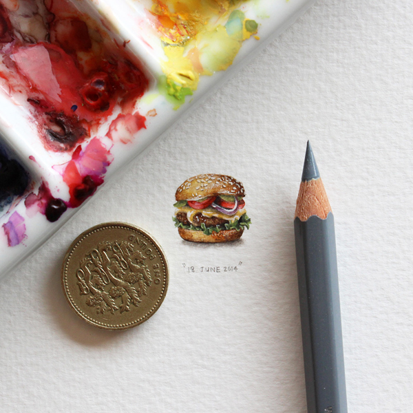 one of Lorraine's tiny illustrations (and one of my favorite meals) -- one of 8 picks for this week's Friday Favorites