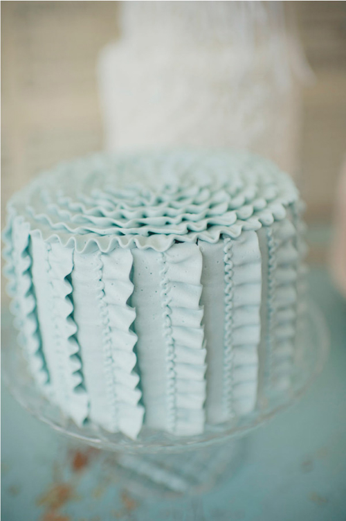 a beautiful ribboned cake - one of 8 picks for this week's Friday Favorites
