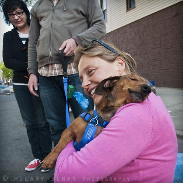 a very touching photograph of a grateful pup reunited with her rescuer -- one of 8 picks for this week's Friday Favorites