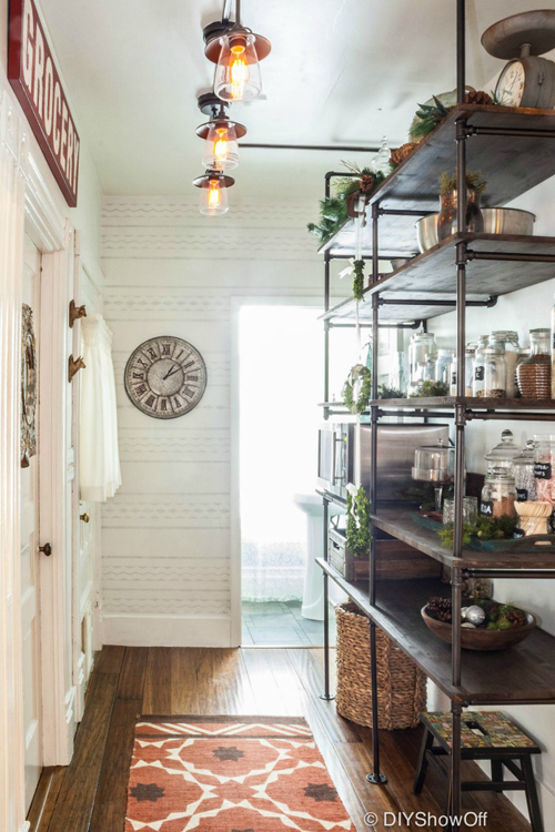 a wonderful open pantry - one of 8 picks for this week's Friday Favorites