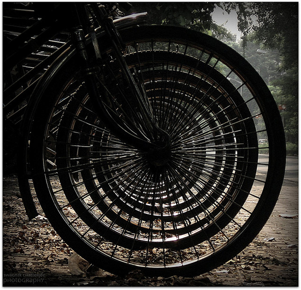 bicycle art - one of 8 picks for this week's Friday Favorites