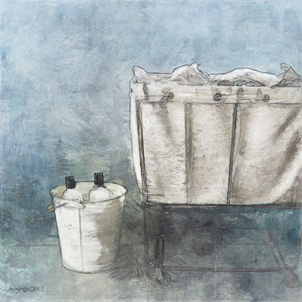 a laundry day illustration - one of 8 picks for this week's Friday Favorites