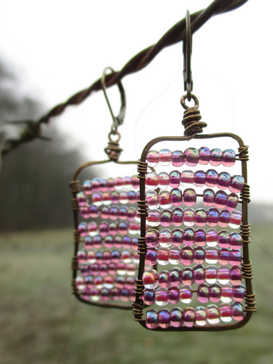 pretty beaded earrings - one of 8 picks for this week's Friday Favorites