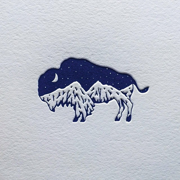 the beauty of illustrations and letterpress - one of 8 picks for this week's Friday Favorites