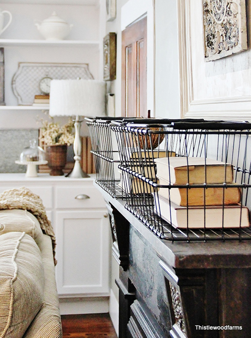 wonderful wire baskets - one of 8 picks for this week's Friday Favorites