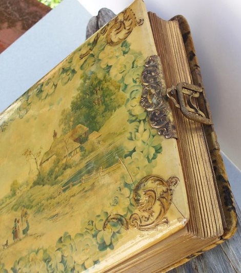 a beautiful, antique Victorian photo album in excellent (hard-to-find) condition -- one of 8 picks for this week's Friday Favorites