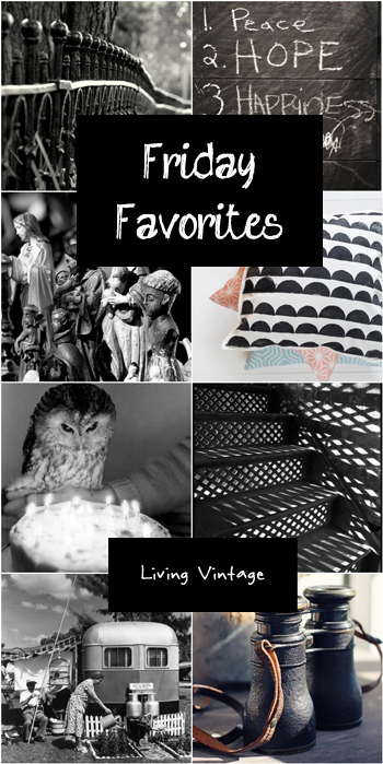 Friday Favorites #72 - Living Vintage