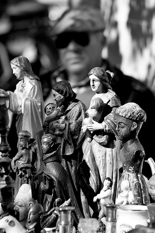 an impressive collection of religious figurines - one of 8 picks for this week's Friday Favorites