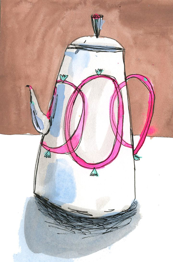 a whimsical little coffee pot - one of 8 picks for this week's Friday Favorites