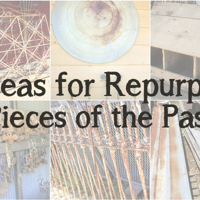 10 Ideas for Repurposing Pieces of the Past + A Giveaway!