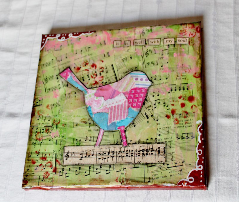 Adirondack Girl at Heart's altered art