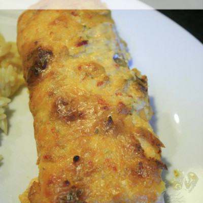Cheesy Sun-Dried Tomato Baked Salmon