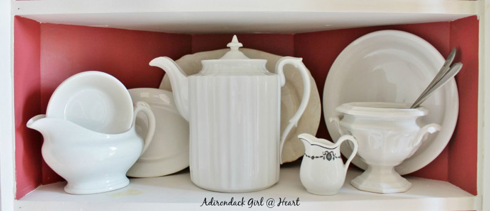 Diana's pretty ironstone collection