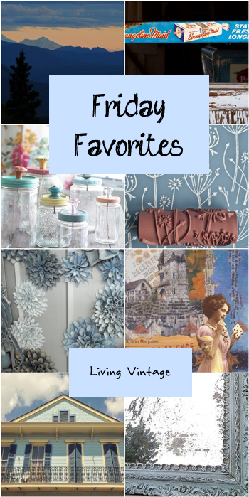 Friday Favorites #97 @ Living Vintage