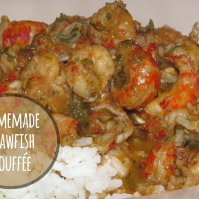 Homemade Crawfish Étouffée