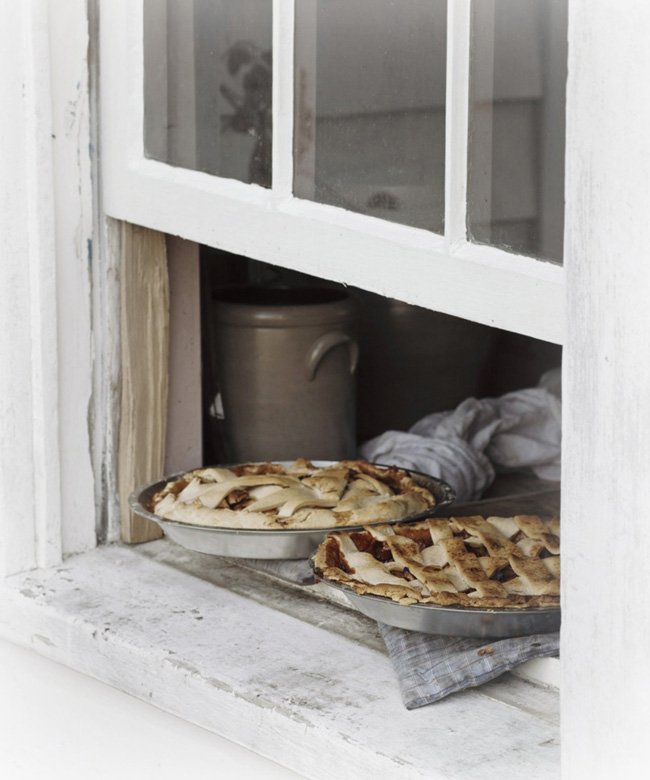 fresh-baked pies cooling on the window sill and other comforts of home -- one of 8 picks for this week's Friday Favorites