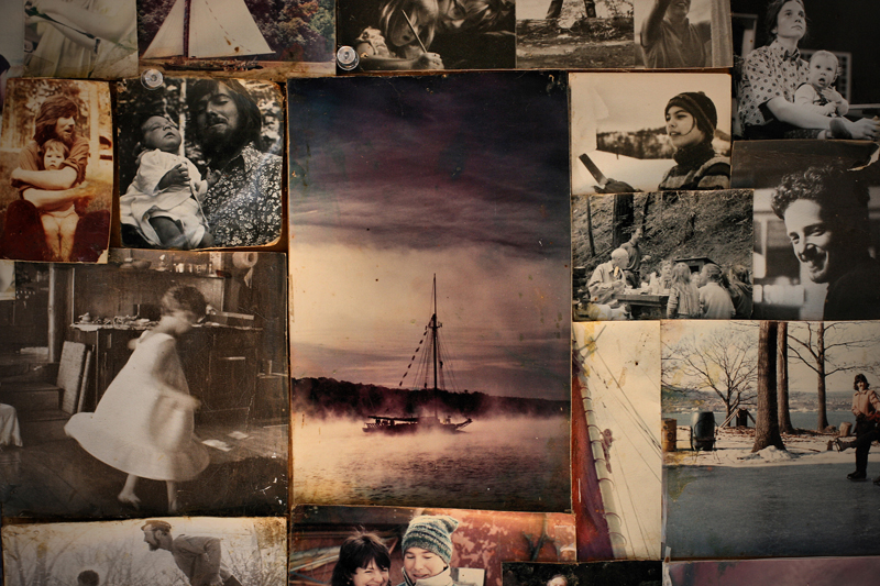 a beautiful display of cherished photographs - one of 8 picks for this week's Friday Favorites