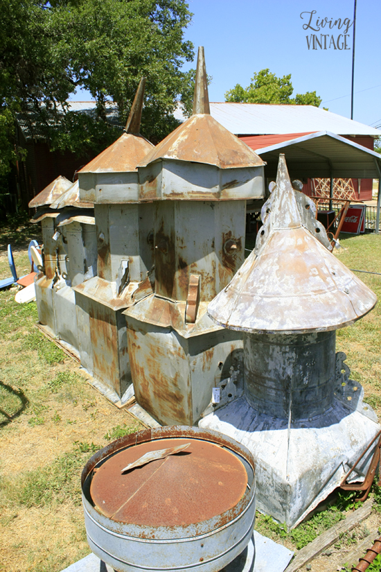 a nice selection of reclaimed cupolas at Pieces of the Past