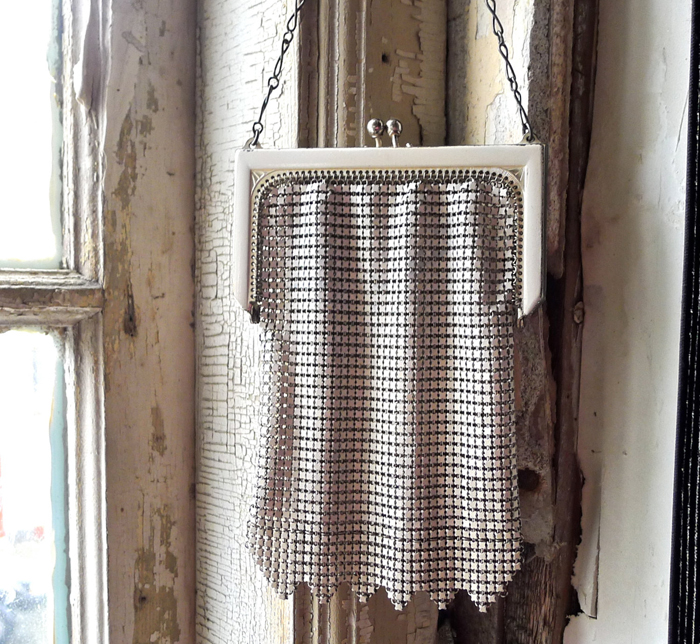 a 1920's mesh purse, in pristine condition - one of 8 picks for this week's Friday Favorites