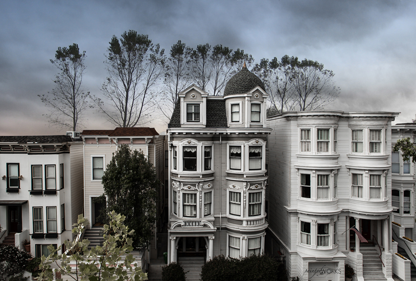 a very pretty image of historic architecture - one of 8 picks for this week's Friday Favorites