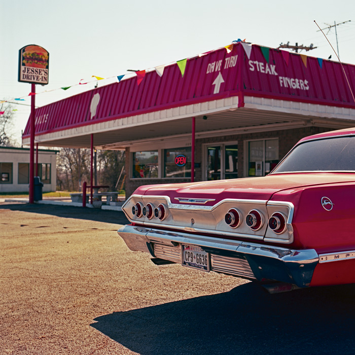 a wonderful image of an old fast-food joint in Mineral Wells, TX that brings back memories of working at the DQ during high school-- one of 8 picks for this week's Friday Favorites