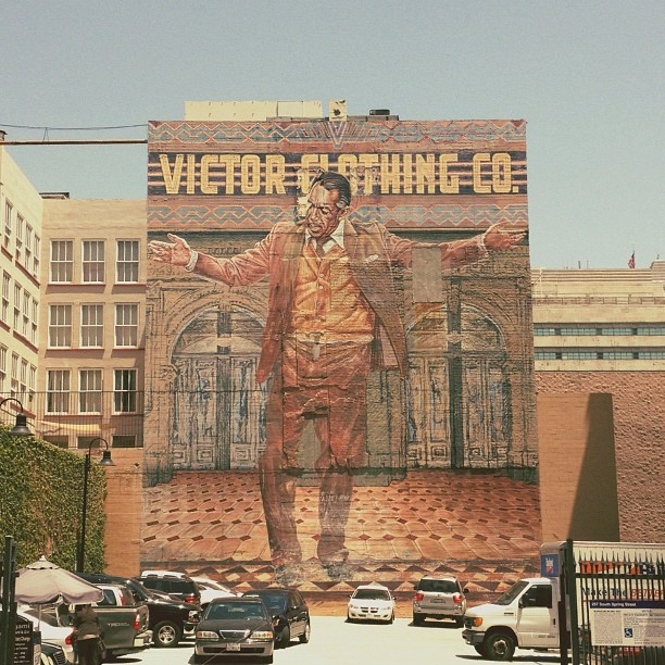 a wonderful mural in LA -- one of 8 picks for this week's Friday Favorites