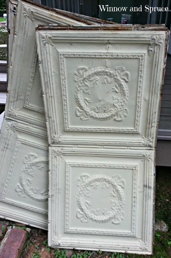 gorgeous antique ceiling tins - one of 8 picks for this week's Friday Favorites